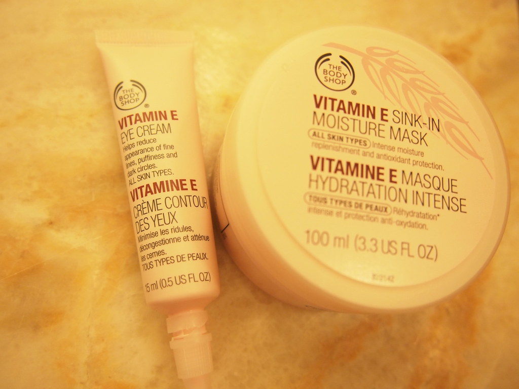 Vitamin E Collection From The Body Shop Vitamin E Eye Crea Flickr