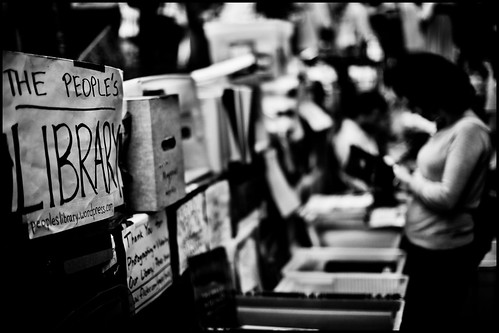 photo of Occupy Wall Street People's Library
