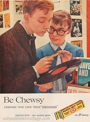 Beechnut Gum Ad- 1959