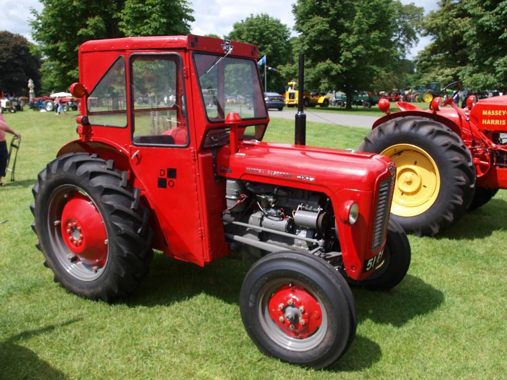 Massey Ferguson 35X Farm Tractors - 1963   Massey Ferguson 3