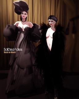 SoliDea Folies   Back to Black   by Miaa Rebane