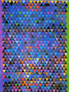 Pieced Quilt Norfolk Hue 1978 New York   by SurrendrDorothy