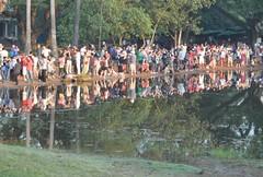 Tursites reflexats al llac