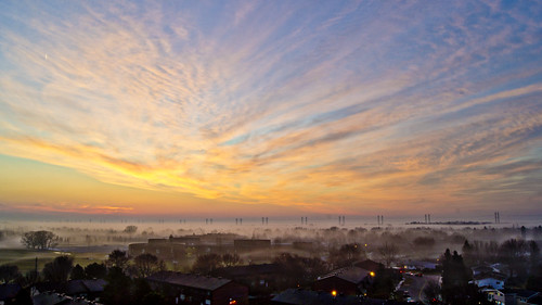 clouds sunrise