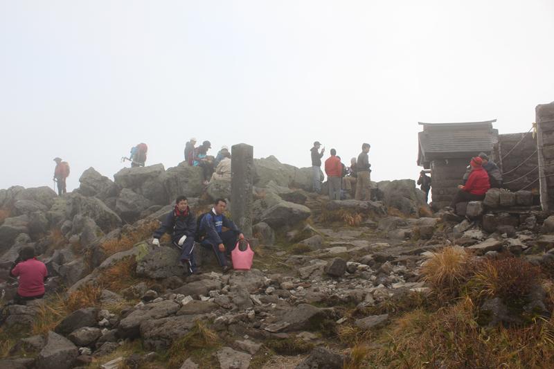 岩木山山頂