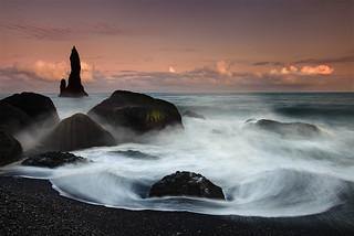 Reynidrangar Waves near Vík, Iceland | by orvaratli