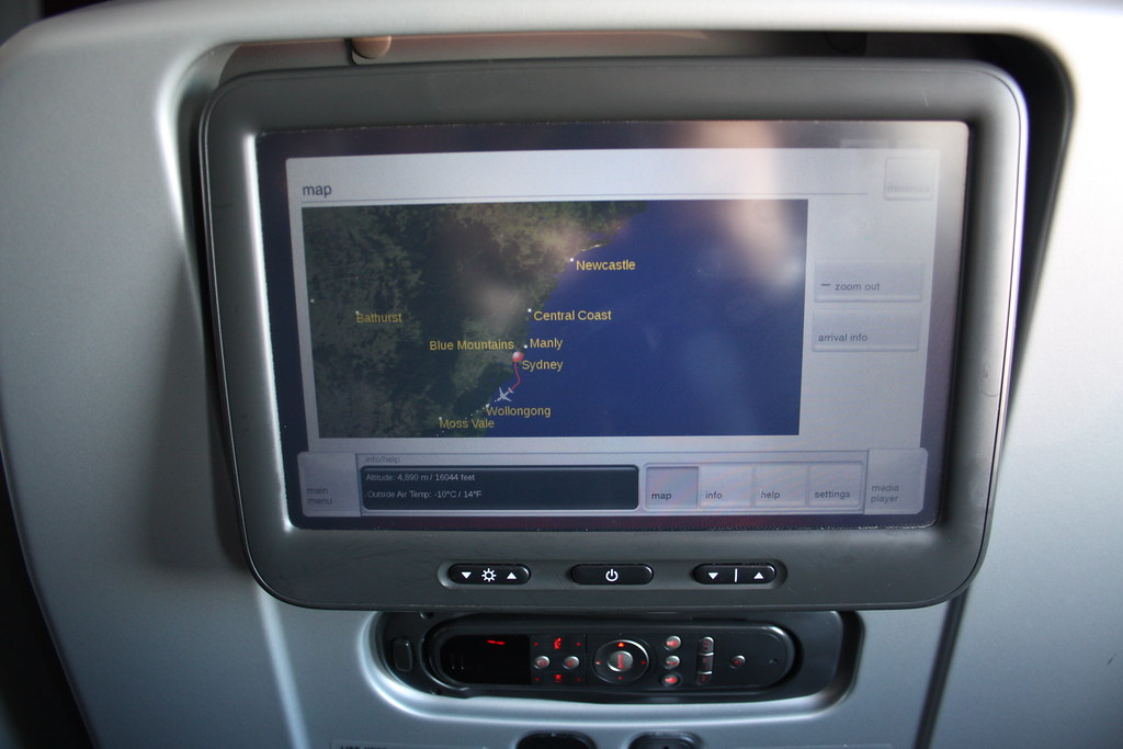 Virgin Australia 777 Map.Premium Economy Flight Map Virgin Australia Boeing 777 Flickr