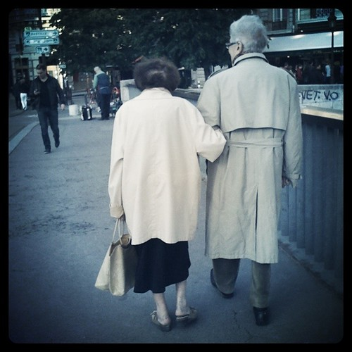 Old Couple Paris