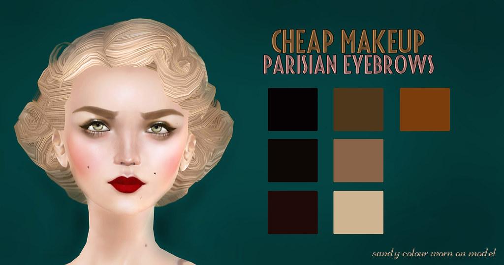 Parisian Eyebrows, Vintage Fair | marketplace secondlife com