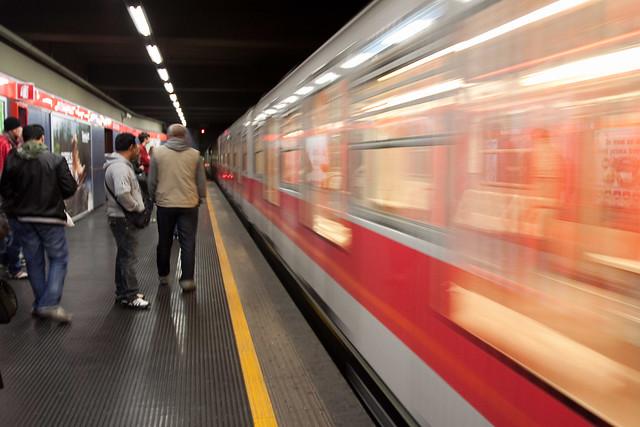 Milan subway station