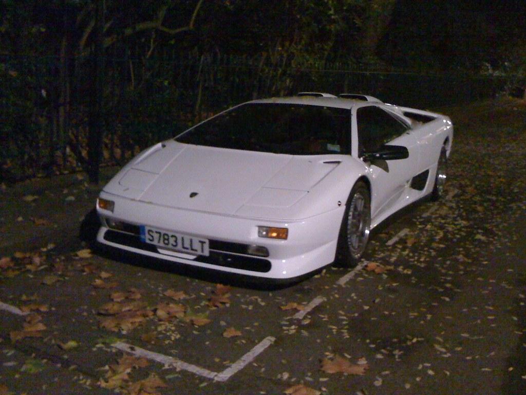 Lamborghini Diablo Svr White Ben Flickr