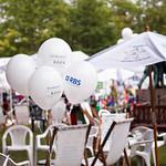 Gala day balloons   Balloons on RBS Schools Gala Day