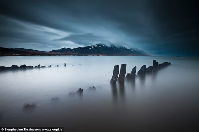 The Ghost Ship - Ernan in Skagafjörður, north Iceland