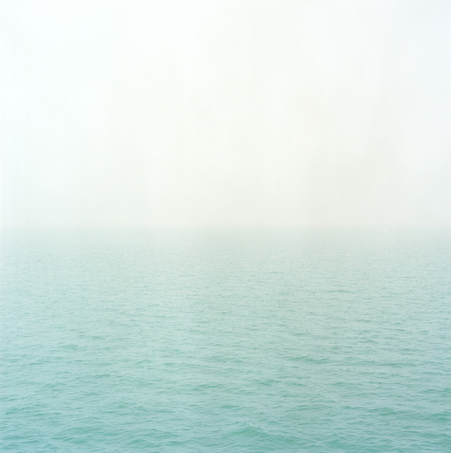 Between water and sky, North Sea Channel 2010.
