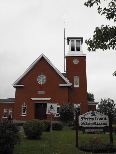 Ste-Anne Catholic Church in Danville, Qc