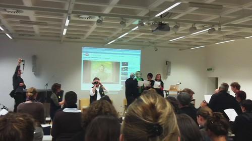 Crowdsinging beim stARTcamp Köln :)