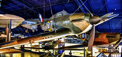 Hurricane I – L1592 KW-Z - in 615 Sqn. Colours - London Science Museum | by Hexagoneye Photography
