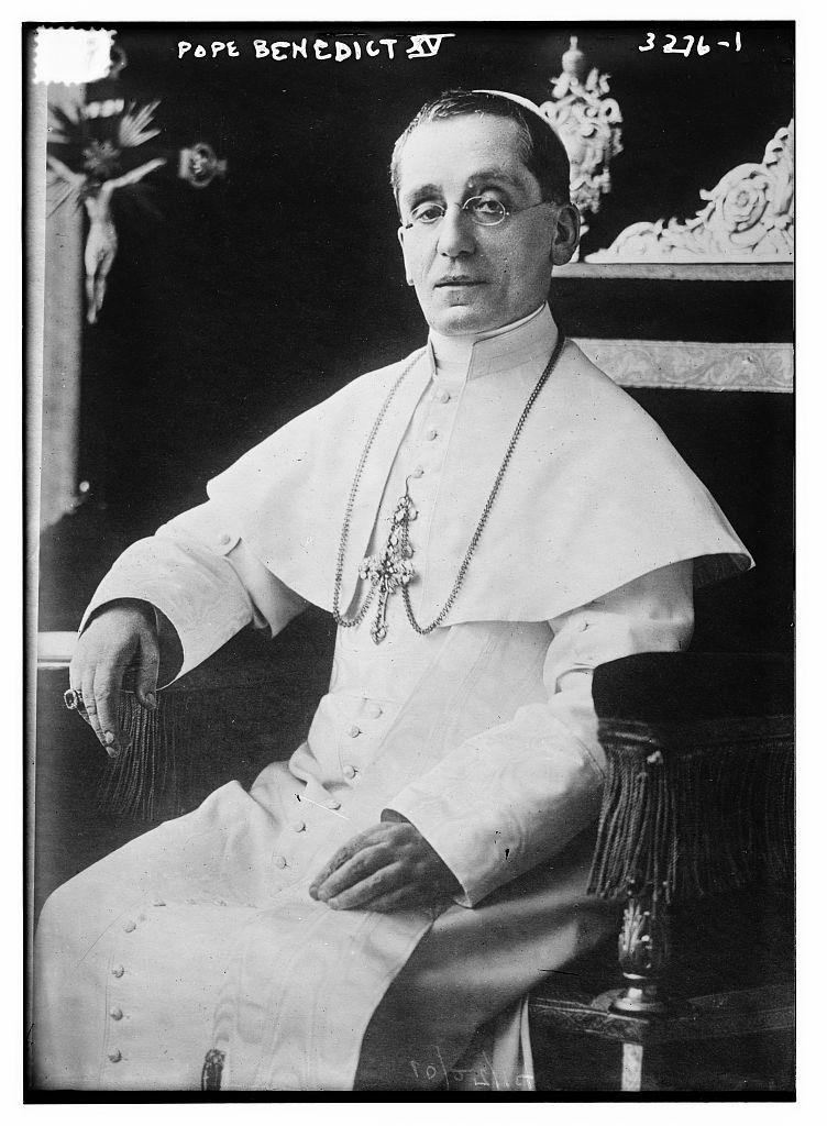 Pope Benedict XV  (LOC)