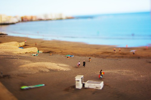 El Médano miniature beach I | by mm3d