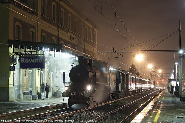 FS 625.177 DIR31114 Rovato-Milano Lambrate - Rovato 6-11-11