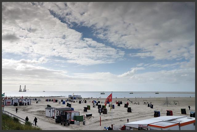 Beach view Borkum