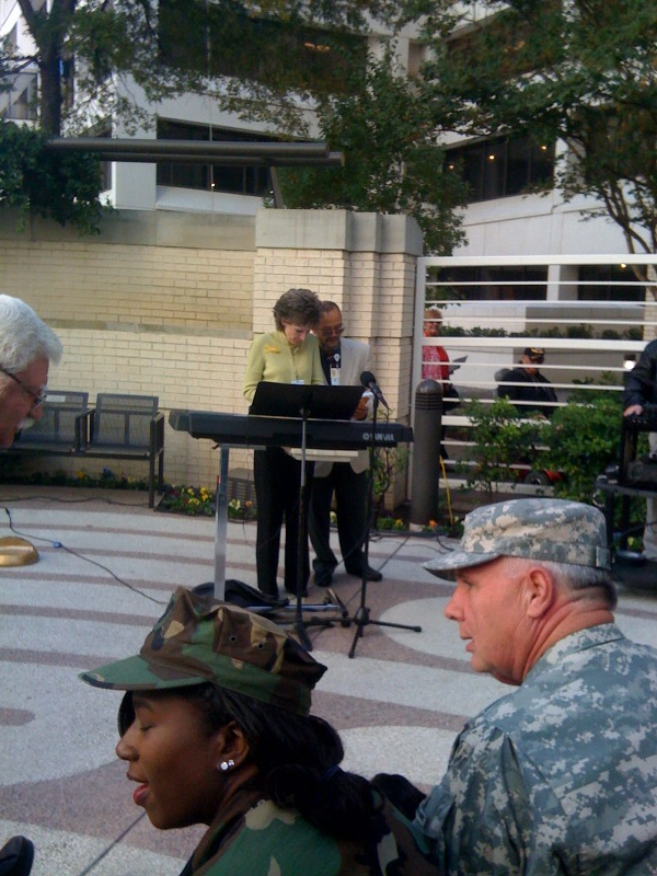 Baylor University Medical Center's Veterans Day 2011