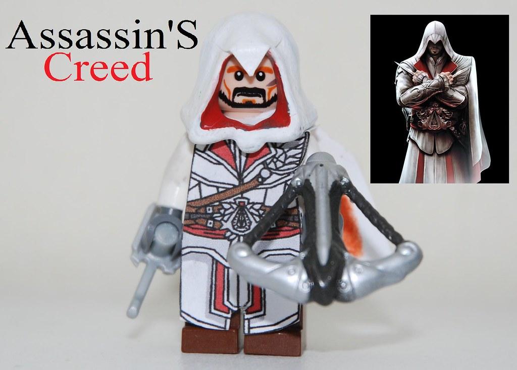 Lego Assassin S Creed Brotherhood Ezio Auditore