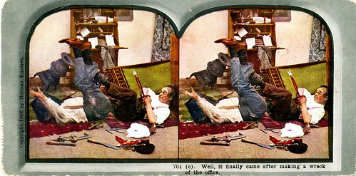 Herman Knutzen stereoview card, 1906, part 5 of 6