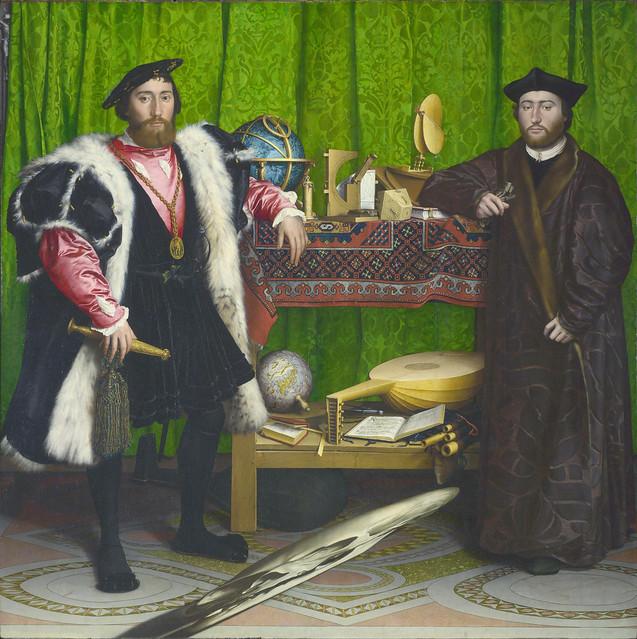 Hans Holbein dJ - The Ambassadors (1533)