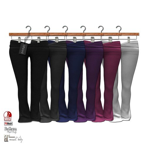{MYNX} Yoga Pants - Fat Pack