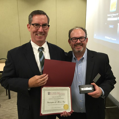Chris Moore and Mitch Cohen   by forensicexpertwitnessassociation