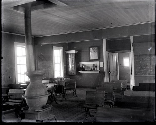 Interior of Senior School | by The U.S. National Archives