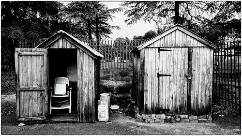 Guard huts, Randburg