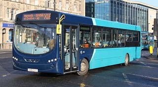 20170123 - 0658 - Arriva North East - Wright Pulsar 2 - No 1480 - Route X16 - Haymarket (Barras Bridge & St Mary's Place) - Newcastle | by Mr Paul Weston