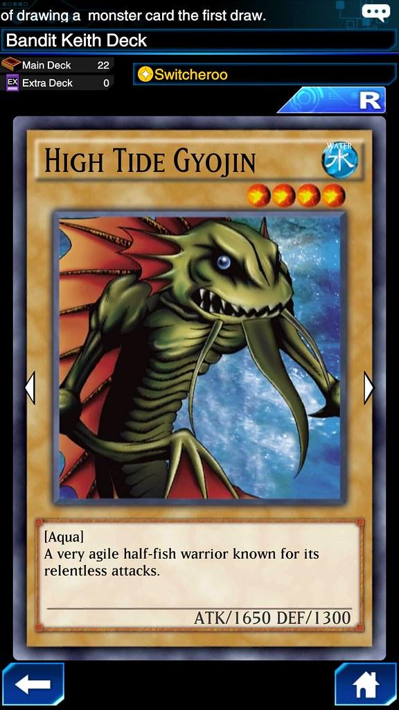 Tips Membentuk Deck YuGiOh Duel Links high tide gyojin | Flickr
