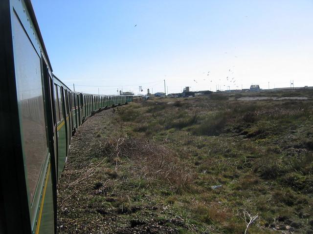 The Romney Hythe and Dymchurch railway