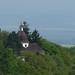 Buchlov, výhled na kapli sv. Barbory, foto: Petr Nejedlý
