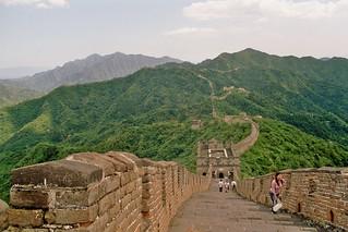 Mutianyu Great Wall | by Arian Zwegers