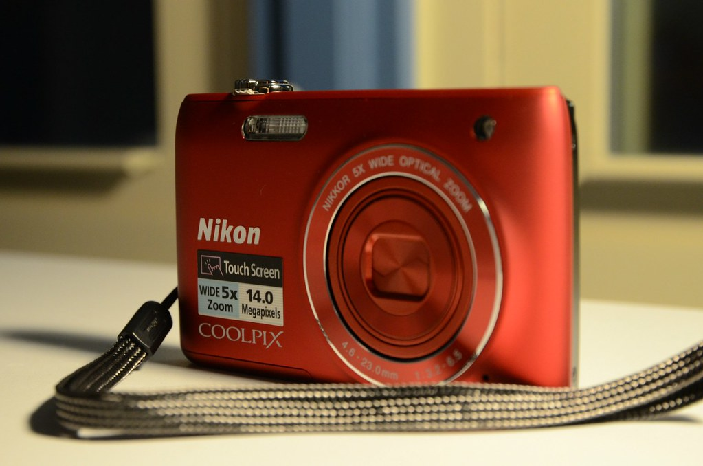 Day 284 - The Little Red Camera | Obviously my Nikon D7000 i