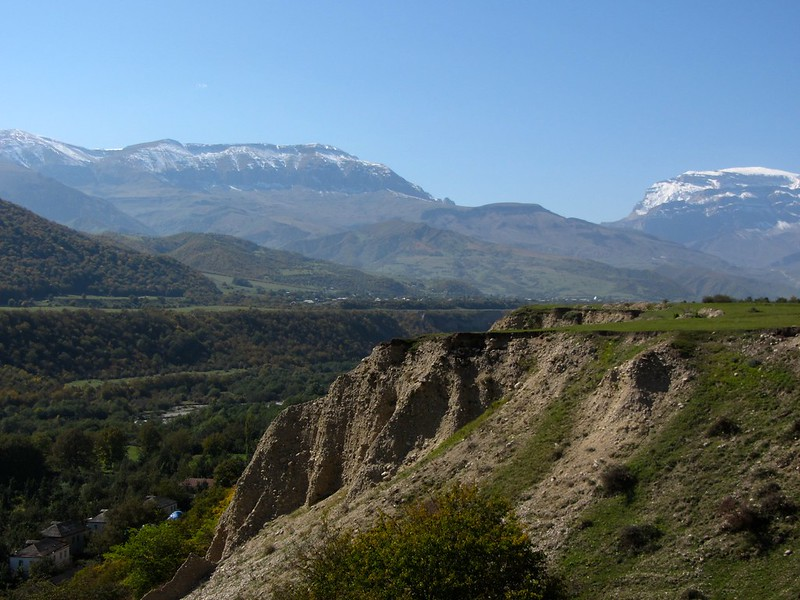 The Caucus Mountains