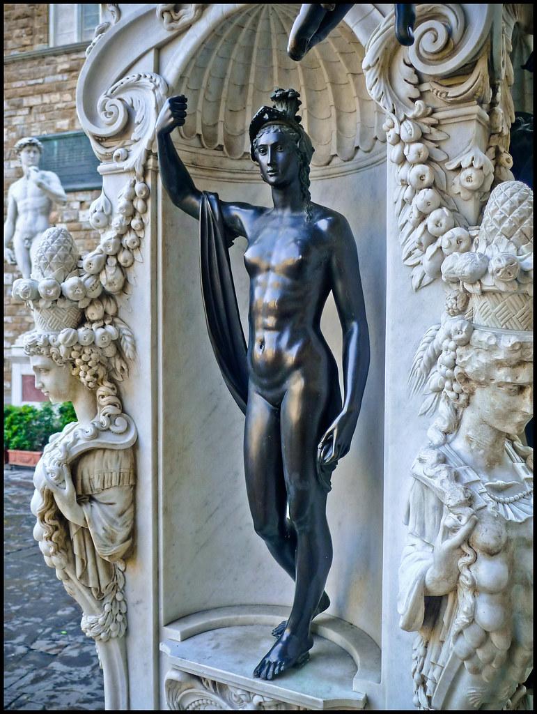 Perseus With The Head Of Medusa Benvenuto Cellini Pe