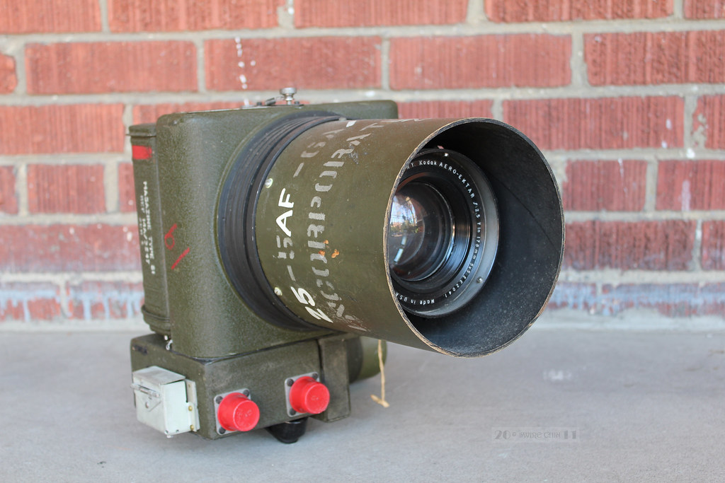 Kodak K-24 US Air Force Camera with Aero-Ektar f2.5, 178 m… | Flickr