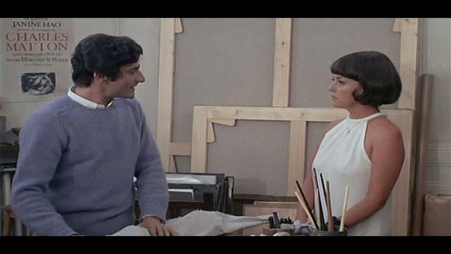 Charles Denner and Jeanne Moreau