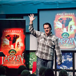 Andy Briggs Tarzan event | Andy Briggs entertains the kids with his modern take on Tarzan