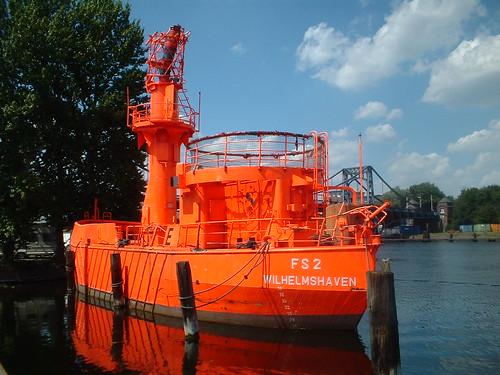 FS 2 Wilhelmshaven - Feuerschiff - Deutsches Marinemuseeum Wilhelmshaven   by anriro96