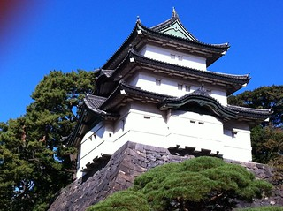 江戸城 富士見櫓なう。