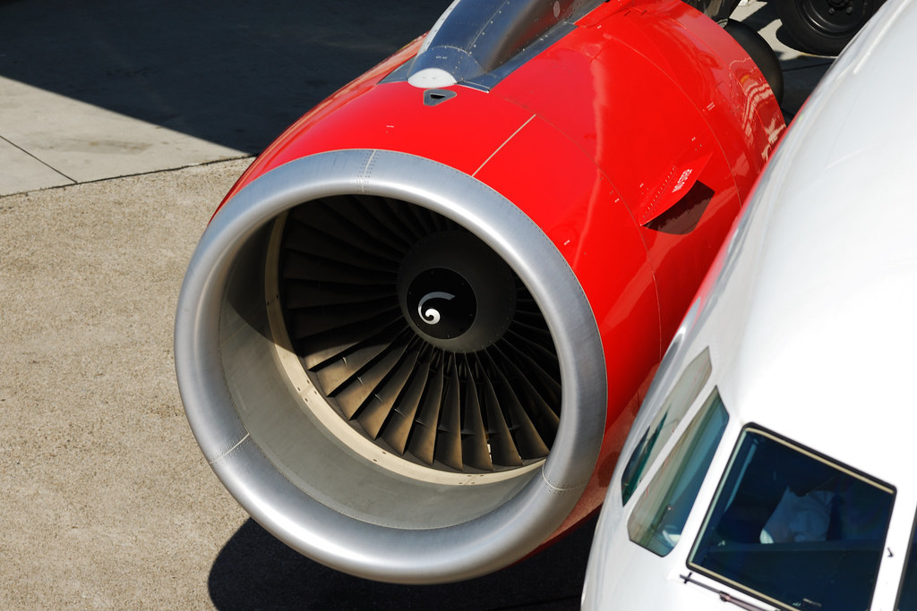 Engine: CFM International Engine CFM56-5B4/P | Air Berlin Ai… | Flickr