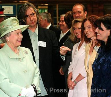 The Queen chats to cast members from the TV soap 'Brooksid…   Flickr