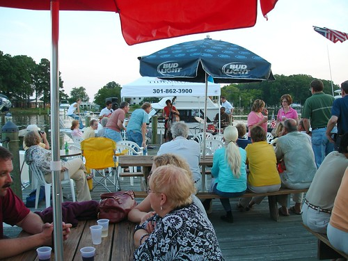The Deck, Morris Point Restaurant, Abell