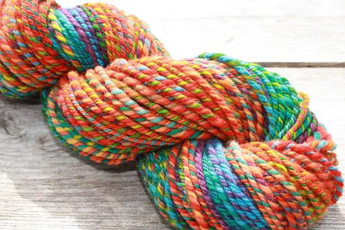 Rainbow Brite Handspun | by sand_and_sky